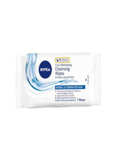Nivea Nivea 3-in-1 Cleansing Wipes 7 Adet Renksiz